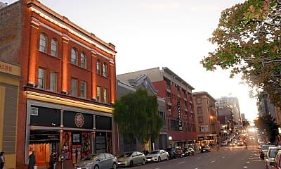 Building, 1353 Bush St, 1