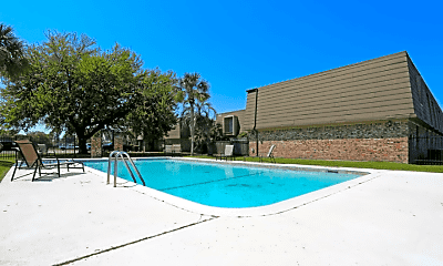Pool, Normandy Apartments, 0