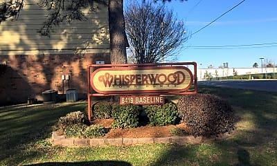 Community Signage, Whisperwood Apts, 0