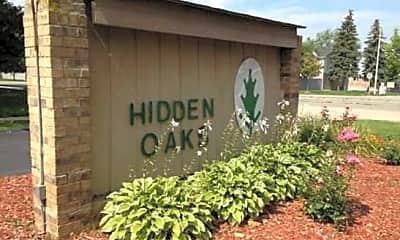 Community Signage, Hidden Oaks, 1