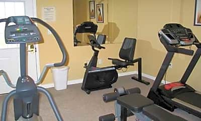 Fitness Weight Room, Highpoint Apartments, 2
