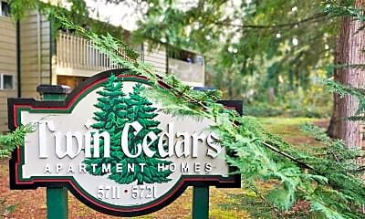 Twin Cedars, 0