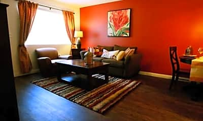 Living Room, Encanto Apartments, 2