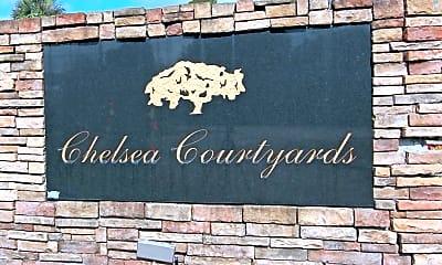 Community Signage, Chelsea Courtyards, 1