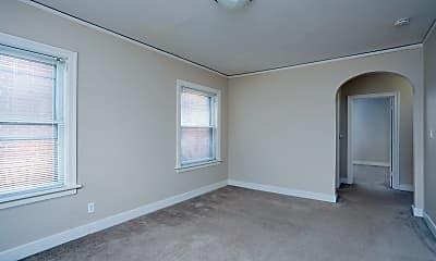 Living Room, Amhurst Apartments, 1