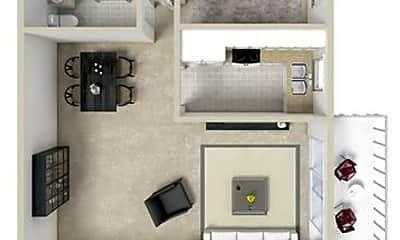 Living Room, 1826 Kingston Ave, 1