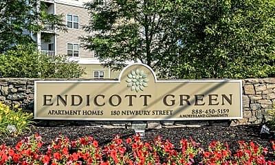 Building, Endicott Green, 2