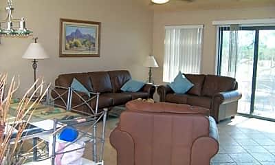 Living Room, 7901 E Joshua Tree Ln 10, 1