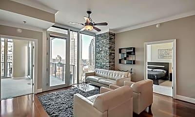 Living Room, 1080 Peachtree St NE 2213, 0