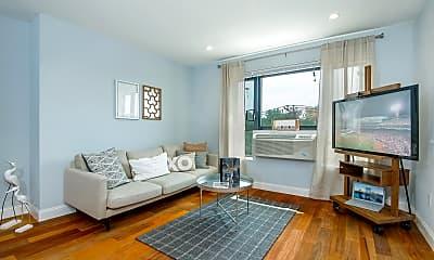 Living Room, Bronx River Road Apartments, 0