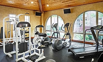 Fitness Weight Room, Positano Homes, 2