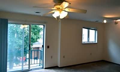 Living Room, Four Seasons Apartments, 1