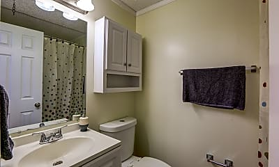 Bathroom, Clubside Apartments, 2