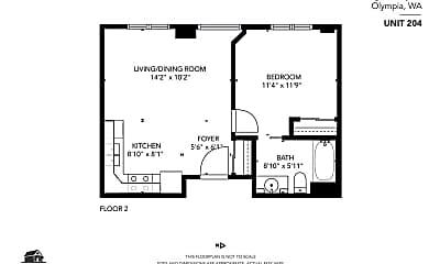 Kitchen, 406 Legion Way SE, 1