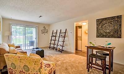 Living Room, Park Terrace, 0
