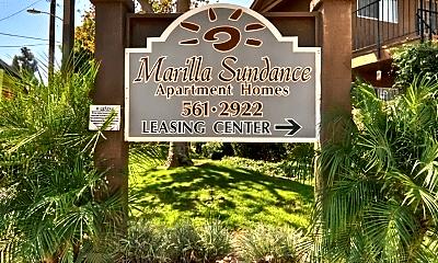 Community Signage, 9662 Marilla Dr, 0