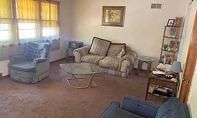 Living Room, 5512 N 52nd St UPPER, 1