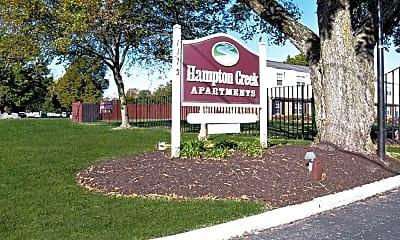 Community Signage, Hampton Creek Apartments, 2