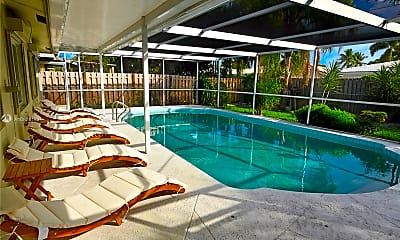 Pool, 1740 NE 49th St 1101, 1