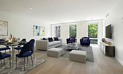 Living Room, 136 W Houston St 4, 0