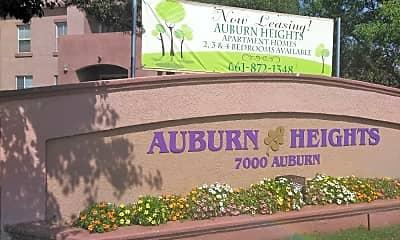 Auburn Heights, 1