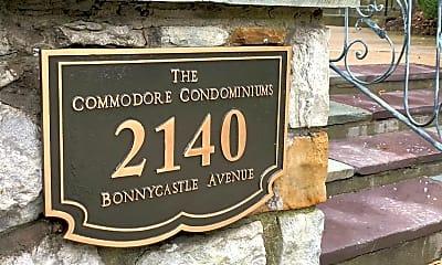 Community Signage, 2140 Bonnycastle Ave, 1