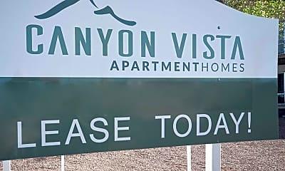 Community Signage, Canyon Vista, 1