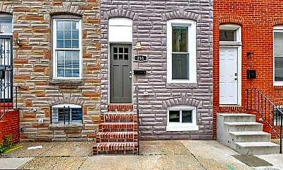 Building, 216 N Glover St, 1