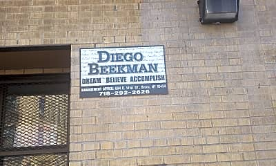 Diego Beekman, 1