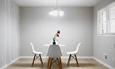 Dining Room, Room for Rent -  a 3 minute walk to bus 74, 0