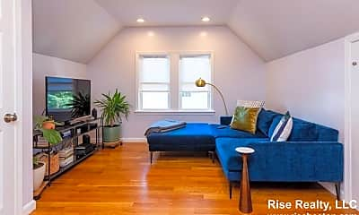 Living Room, 77 Dearborn Ave, 1