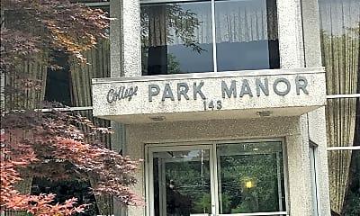 College PARK MANOR, 1