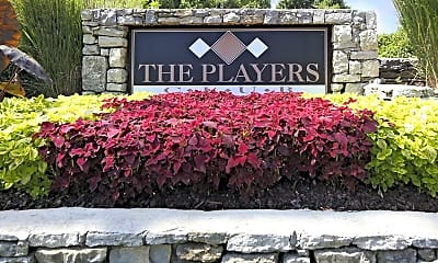 Community Signage, The Players Club, 1