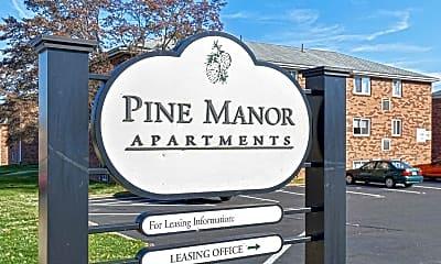 Community Signage, Pine Manor Apartments, 2