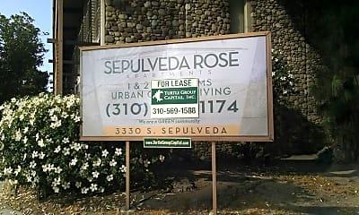 Sepulveda Apartments, 1