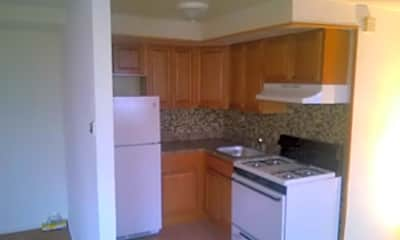 Kitchen, Bucks Crossing Apartments, 2
