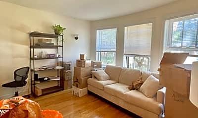 Living Room, 4858 N HERMITAGE 1B, 1