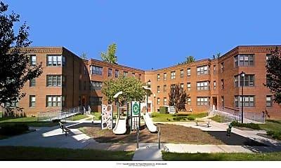 West Court Apartments, 1
