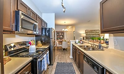 Kitchen, Evergreen At Magnolia Commons, 1