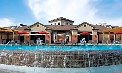 Pool, Landing At Briarcliff Apartments, 1