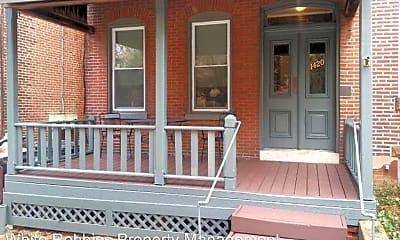 Patio / Deck, 1420 N Van Buren St, 0