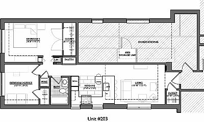 Patio / Deck, 3125 Mt Pleasant St NW, 2