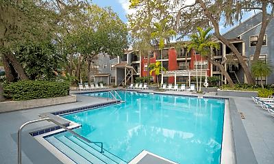 Pool, Grande Oasis at Carrollwood, 2