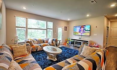 Living Room, 525 Holly Ridge Way, 2