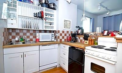 Kitchen, 3 St Charles St, 1