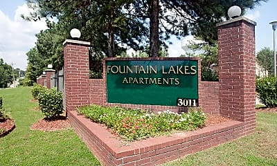 Community Signage, Fountain Lakes, 2