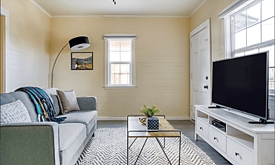 Living Room, 439 Arleta Ave, 1