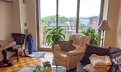 Living Room, 7111 Woodmont Ave, 1