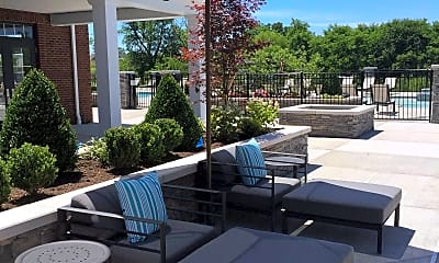 Patio / Deck, The BLVD at Hays, 2