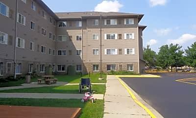 Building, Riverview Suites, 1